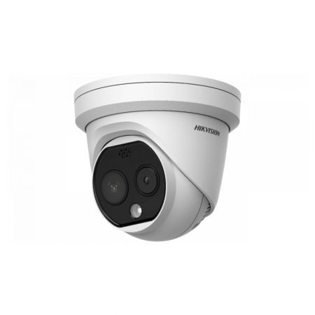 Camera supraveghere termica IP Dome Hikvision DS-2TD1217B-6/PA